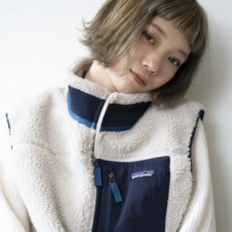ショートバング 切りっぱなしボブ|美容室【CIECA.】野元 亮太のヘアスタイル