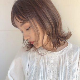 クリーミーベージュ|【GARDEN omotesando】 Momo のヘアカタログ|LALA [ララ]