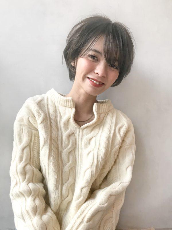 スッキリ耳かけショート|アンアミ キチジョウジ(Un ami Kichijoji)スタイリスト岸 直美のヘアスタイル画像【フロント2】