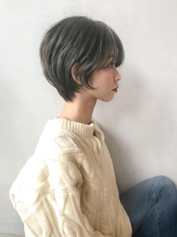 スッキリ耳かけショート|アンアミ キチジョウジ(Un ami Kichijoji)スタイリスト岸 直美のヘアスタイル画像【サイド】
