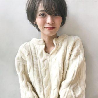 スッキリ耳かけショート|【Un ami kichijoji】 岸 直美のヘアスタイル|ヘアカタログLALA [ララ]