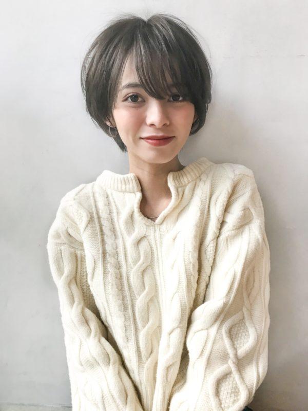 スッキリ耳かけショート|アンアミ キチジョウジ(Un ami Kichijoji)スタイリスト岸 直美のヘアスタイル画像【フロント】