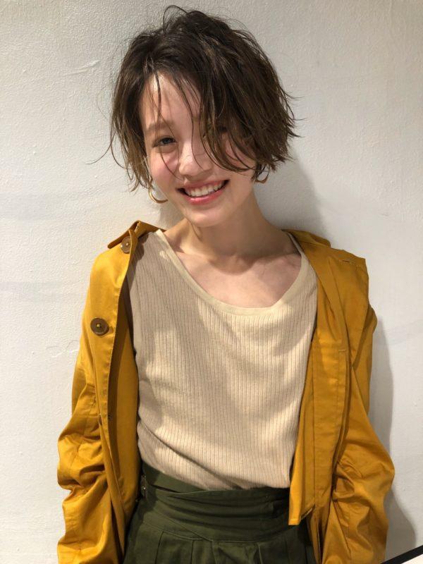 オシャレ可愛いカジュアルショート|【GARDEN Tokyo】今野 佑哉のヘアスタイル|ヘアカタログLALA [ララ]
