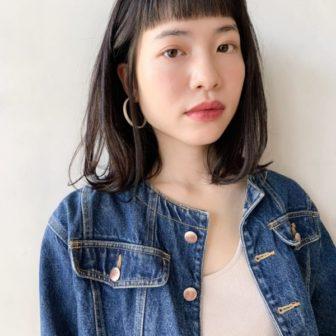 おしゃれミディアム|【Un ami kichijoji】 岸 直美のヘアカタログ|LALA [ララ]