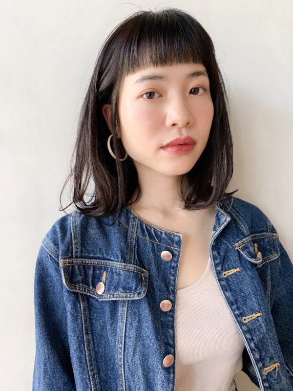 おしゃれミディアム|【Un ami kichijoji】 岸 直美のヘアカタログ