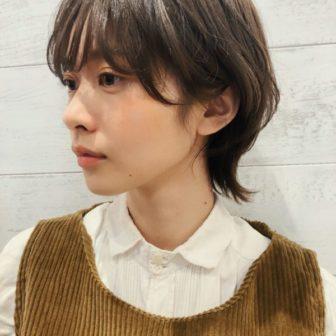 マッシュウルフショート|【joemi by Un ami】 大久保 瞳のヘアスタイル|ヘアカタログLALA [ララ]