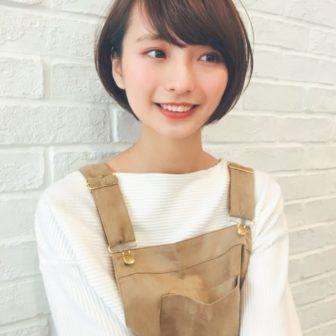 大人可愛いバランスのショートボブ|【GARDEN harajuku】 高橋 苗のヘアスタイル|ヘアカタログLALA [ララ]