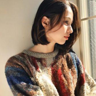 シンプルボブ|【GARDEN harajuku】 安倍 千晶のヘアカタログ|LALA [ララ]