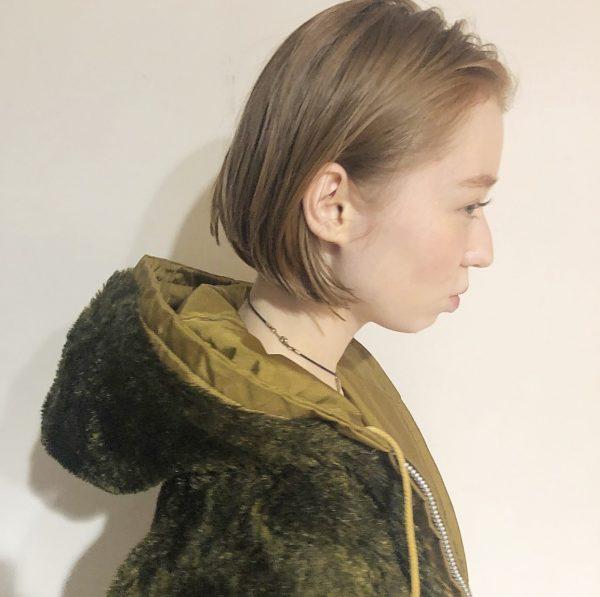 シンプルボブ|【AFLOAT D'L】柳原 弘樹のヘアスタイル・ヘアアレンジ・髪型