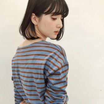 シンプルモードボブ|【GARDEN harajuku】 安倍 千晶のヘアカタログ|LALA [ララ]