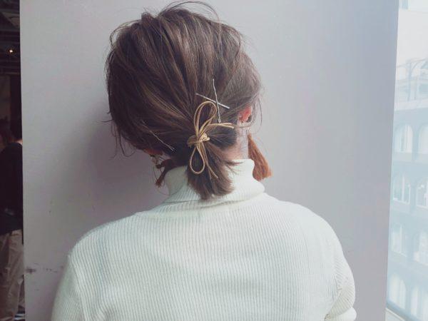 透明感カラー×ナチュラルボブ 【drive for garden】一番合戦 彩のヘアスタイル・ヘアアレンジ・髪型
