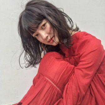 地毛風透明感オシャレミディアム|【Un ami kichijoji】 岸 直美のヘアカタログ|LALA [ララ]