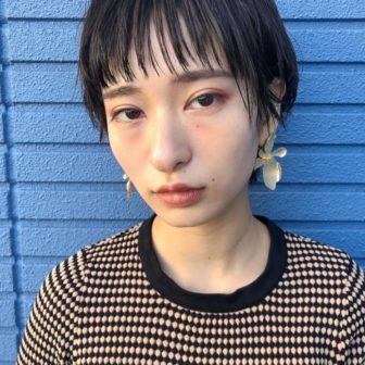 お洒落マッシュショート|【GIFT】chekeのヘアスタイル・ヘアアレンジ・髪型|ヘアカタログLALA[ララ]
