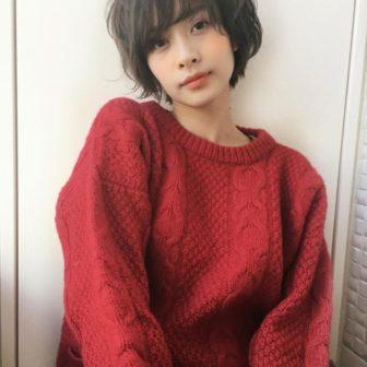 くせ毛風お洒落無造作パーマショート|【joemi by Un ami】 大久保 瞳のヘアスタイル・ヘアアレンジ・髪型|LALA[ララ]