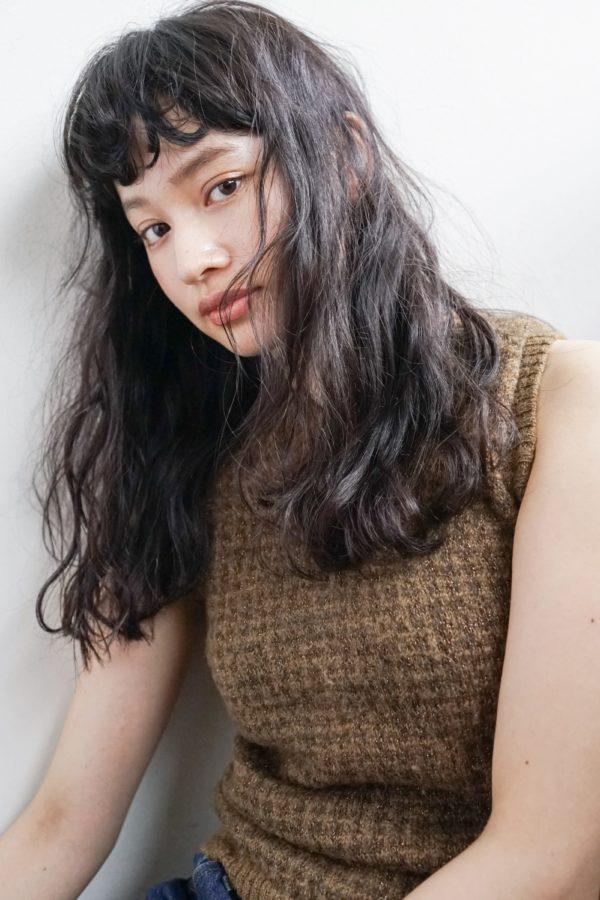 フレンチシックなロングウエーブ|【nanuk】佐野 正人のヘアスタイル