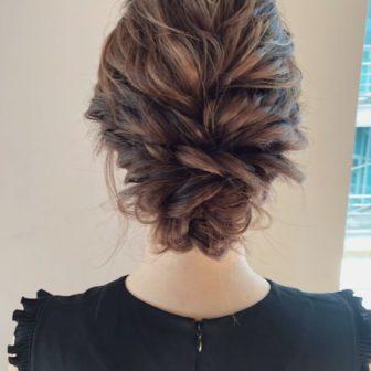 ロープ編みでルーズヘアアレンジ|【drive for garden】一番合戦 彩のヘアスタイル・ヘアアレンジ・髪型|ヘアカタログLALA[ララ]