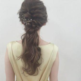 大人ポニーテール|【drive for garden】一番合戦 彩のヘアスタイル・ヘアアレンジ・髪型|ヘアカタログLALA[ララ]