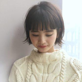 黒髪でも重く見えないショートボブ|【drive for garden】國武 さゆりのヘアスタイル・ヘアアレンジ・髪型|LALA[ララ]