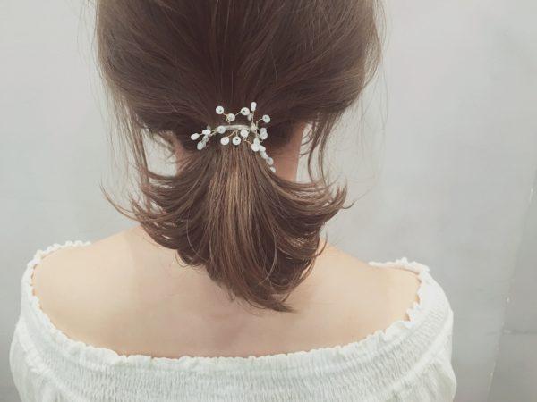 オクレイヤー×色気ポニーテール|【drive for garden】一番合戦 彩のヘアスタイル・ヘアアレンジ・髪型