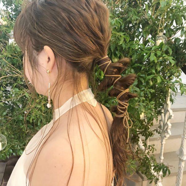 wedding hair arrange|【GIFT】chekeのヘアスタイル・ヘアアレンジ・髪型|LALA[ララ]