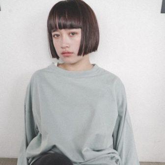 シンプルだけど可愛いいミニボブ|【nanuk】佐野 正人のヘアスタイル|ヘアカタログLALA [ララ]