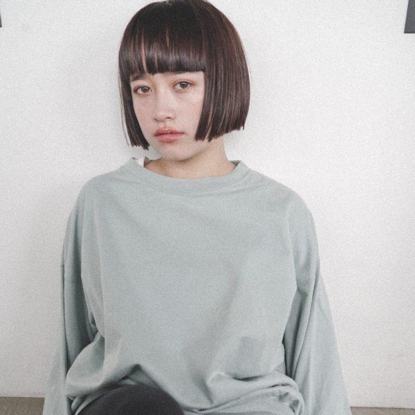 シンプルだけど可愛いいミニボブ|【nanuk】佐野 正人のヘアスタイル
