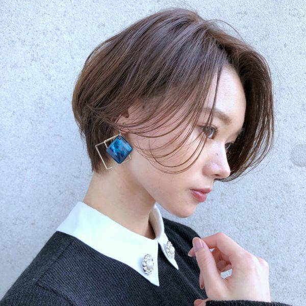 初めてのショートでも似合わせやすいハンサムショート 【GARDEN Tokyo】今野 佑哉のヘアスタイル・ヘアアレンジ・髪型 LALA[ララ]