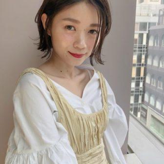 外ハネ ニュアンスボブ|【drive for garden】國武 さゆりのヘアスタイル・ヘアアレンジ・髪型|LALA[ララ]