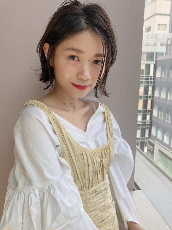 外ハネ ニュアンスボブ|【drive for garden】國武 さゆりのヘアスタイル・ヘアアレンジ・髪型