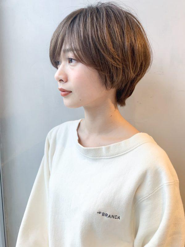ウザバングショートヘア 【Un ami kichijoji】 岸 直美のヘアカタログ