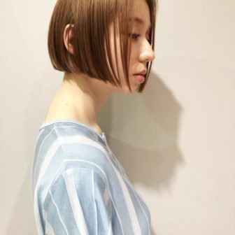 ナチュラルモードなボブ|【JENO】堀江 昌樹のヘアスタイル・ヘアアレンジ・髪型・ヘアカタログ|LALA[ララ]