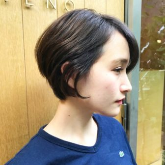 前下がりショート|【JENO】堀江 昌樹のヘアスタイル・ヘアアレンジ・髪型・ヘアカタログ|LALA[ララ]