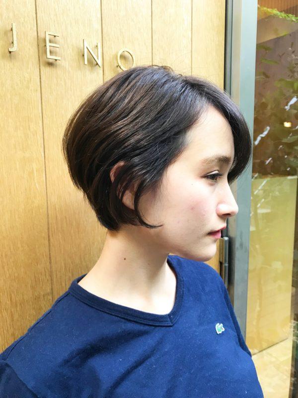 前下がりショート|【JENO】堀江 昌樹のヘアスタイル・ヘアアレンジ・髪型|LALA[ララ]