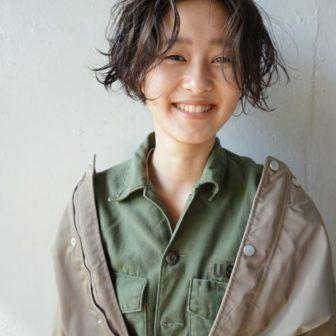 甘さと遊びのあるハンサムボブ|【nanuk】佐野 正人のヘアスタイル|ヘアカタログLALA [ララ]