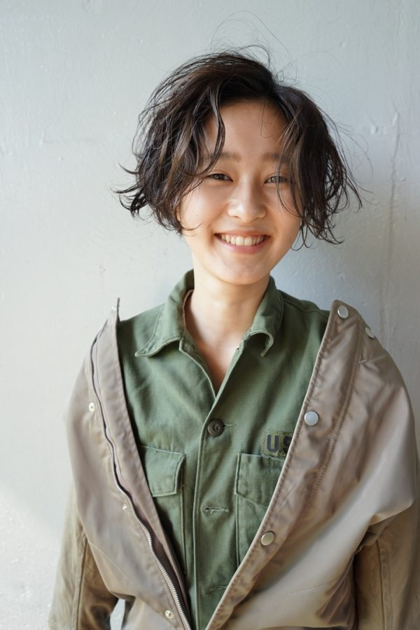 甘さと遊びのあるハンサムボブ|【nanuk】佐野 正人のヘアスタイル
