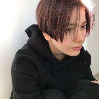 ダブルカラー*ライトピンク|【nanuk】岡村 健太郎のヘアスタイル・ヘアアレンジ・髪型|ヘアカタログLALA [ララ]