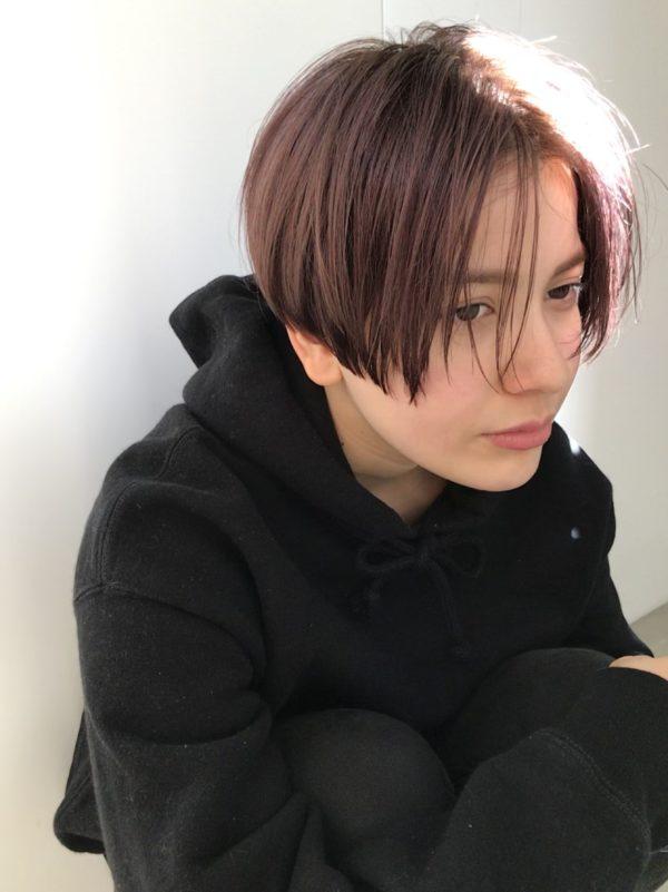 ダブルカラー*ライトピンク|東京の美容室 nanuk 岡村 健太郎のヘアスタイル・髪型・ヘアカタログ