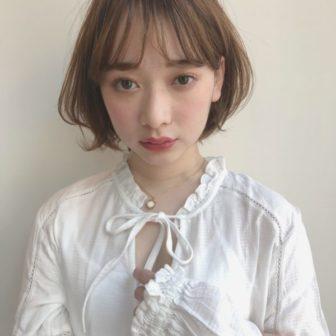 軽くふんわり ショートボブ|【drive for garden】國武 さゆりのヘアスタイル・ヘアアレンジ・髪型|LALA[ララ]