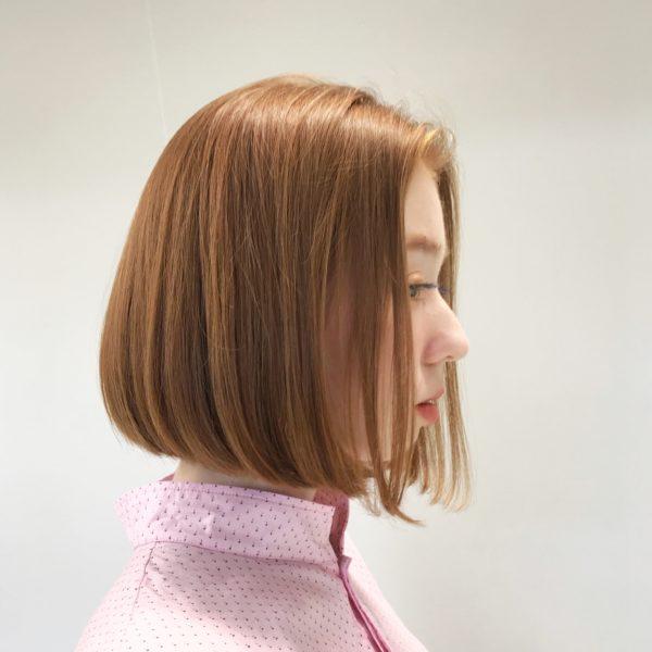 ナチュラルで可愛いボブ|【JENO】堀江 昌樹のヘアスタイル・ヘアアレンジ・髪型