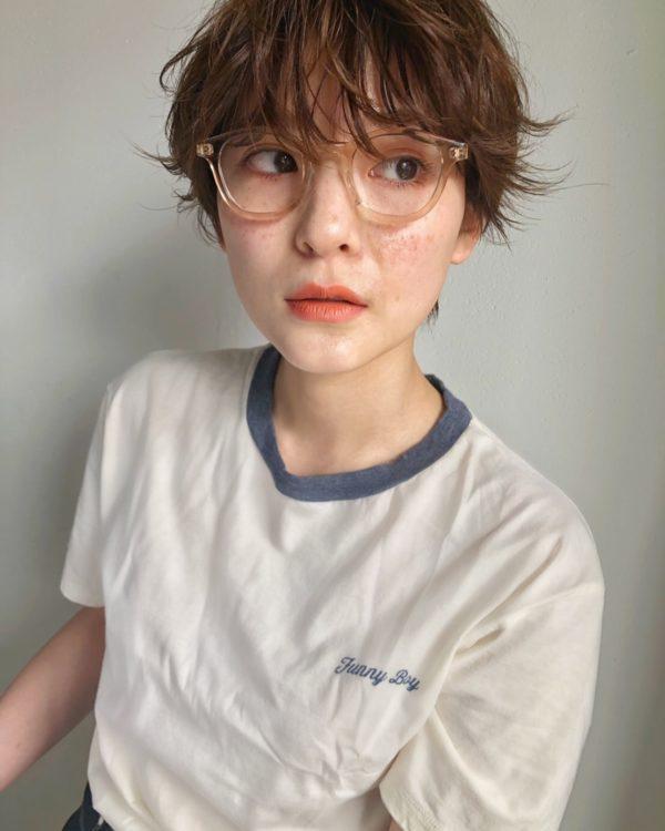 ニュアンスパーマ ハンサムショート|ヘアスタイル・ヘアアレンジ・髪型|LALA[ララ]