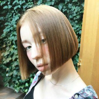シンプルなボブ|【JENO】堀江 昌樹のヘアスタイル・ヘアアレンジ・髪型|LALA[ララ]