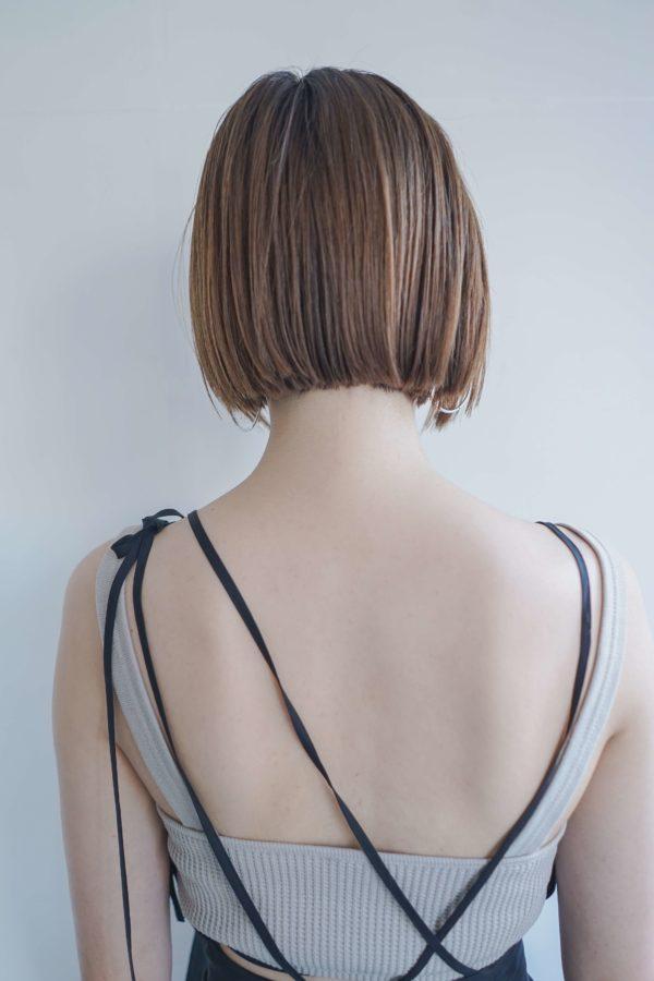 ストパでつくる切りっぱなしボブ 【tsunagu】服部 達哉のヘアスタイル・ヘアアレンジ・髪型 LALA[ララ]