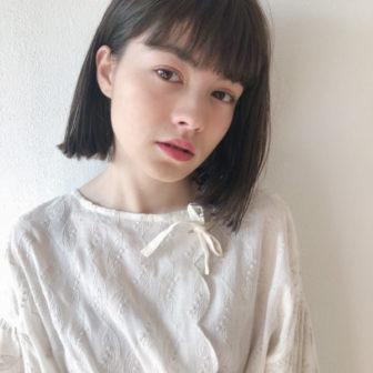 前下りの外ハネボブ|【JENO】堀江 昌樹のヘアスタイル・ヘアアレンジ・髪型|LALA[ララ]