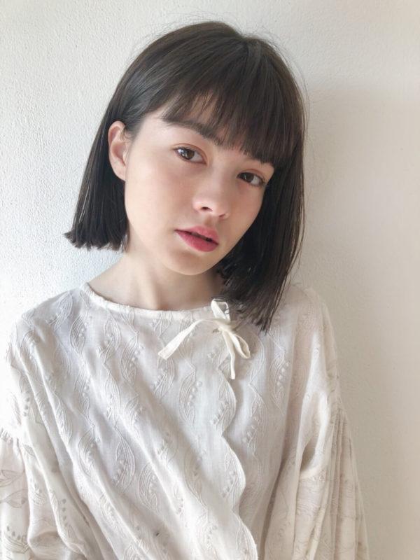 前下りの外ハネボブ|【JENO】堀江 昌樹のヘアスタイル・ヘアアレンジ・髪型