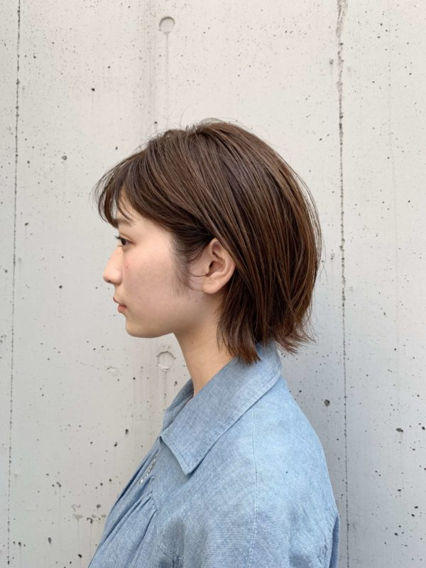 ナチュラルでカジュアルなボブ|【JENO】堀江 昌樹のヘアスタイル・ヘアアレンジ・髪型|LALA[ララ]