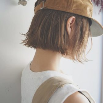 BOB×CAP|【tsunagu】服部 達哉のヘアスタイル・ヘアアレンジ・髪型|LALA[ララ]