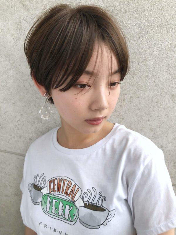今年絶対流行るトランクスショート 【GARDEN Tokyo】今野 佑哉のヘアスタイル・髪型 フロント画像