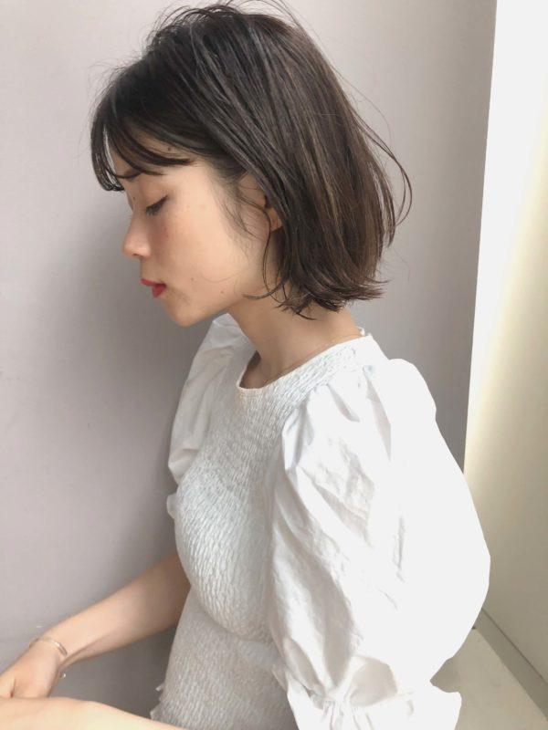 外ハネくびれ キャンディボブ|【drive for garden】國武 さゆりのヘアスタイル・ヘアアレンジ・髪型
