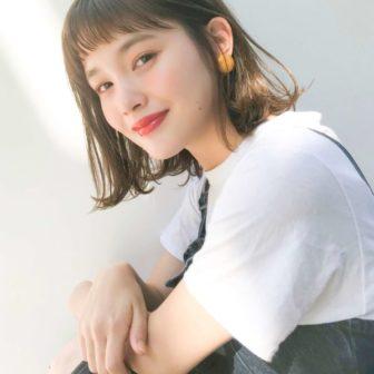 ゆるふわ外ハネボブ|【Un ami kichijoji】 岸 直美のヘアスタイル・髪型|ヘアカタログLALA [ララ]