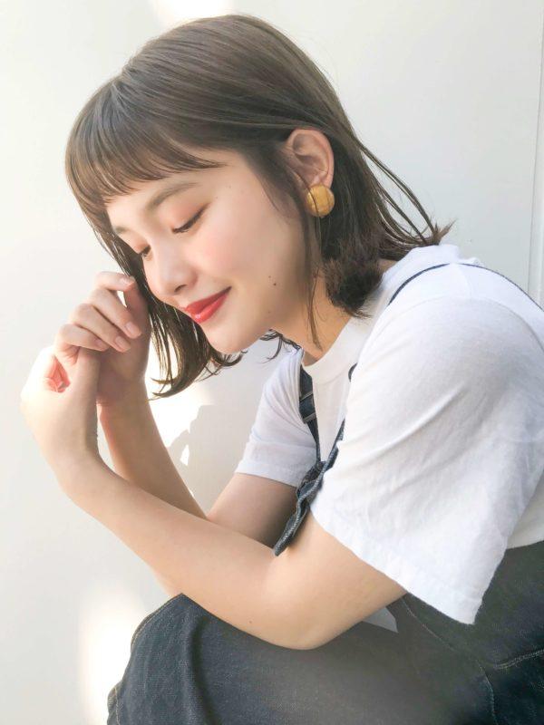 ゆるふわ外ハネボブ|アンアミ キチジョウジ(Un ami Kichijoji)スタイリスト岸 直美のヘアスタイル画像 サイド